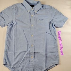 Short-sleeve Button-down Boys sz XL (14)